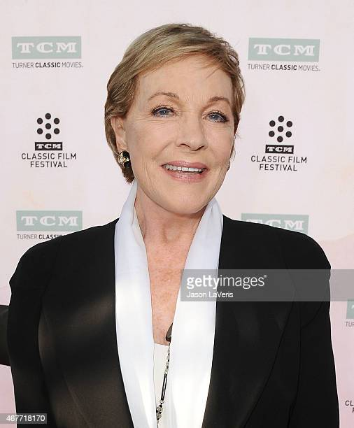 Actress Julie Andrews attends the 2015 TCM Classic Film Festival opening night gala and the 50th anniversary of 'The Sound Of Music' at TCL Chinese...