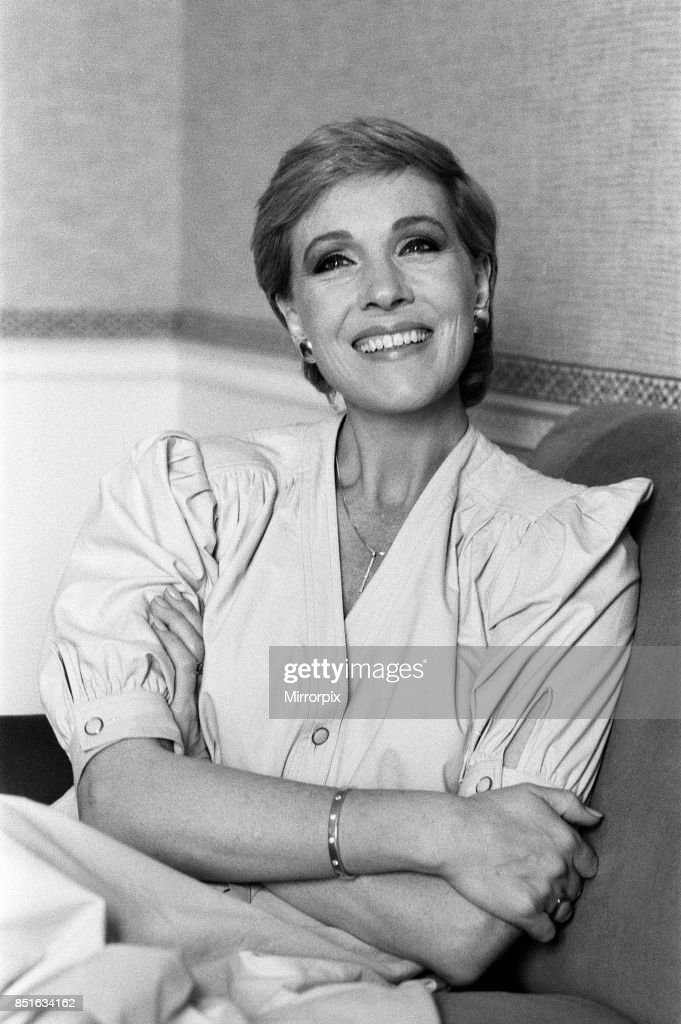 Actress Julie Andrews pictured at a London Hotel, 28th June 1983.