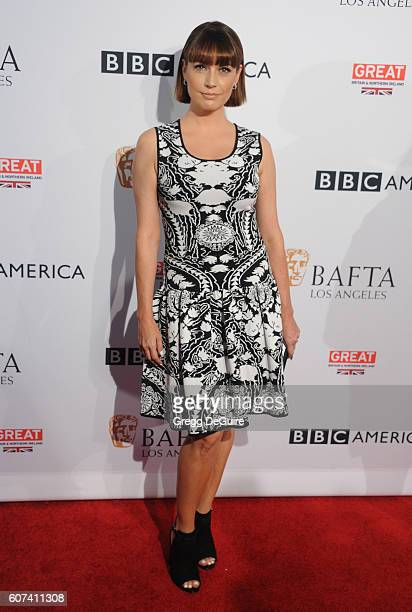 Actress Julie Ann Emery arrives at the BBC America BAFTA Los Angeles TV Tea Party at The London Hotel on September 17 2016 in West Hollywood...