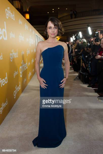 Actress Julie Ann Emery arrives at the premiere of Fox Searchlight Pictures' 'Gifted' at Pacific Theaters at the Grove on April 4 2017 in Los Angeles...