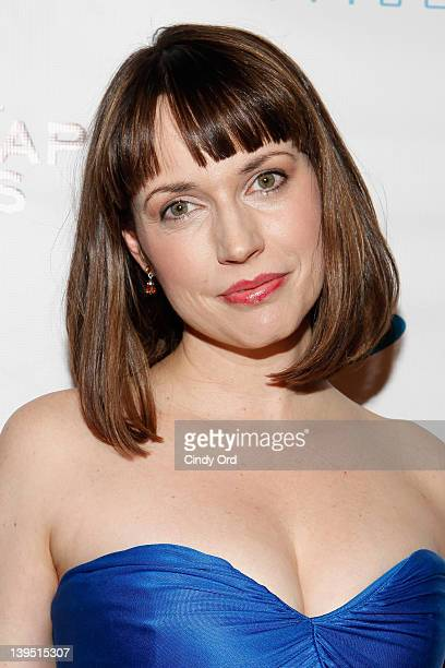 Actress Julie Ann Emery attends the 3rd Annual Indie Soap Awards at the New World Stages on February 21 2012 in New York City