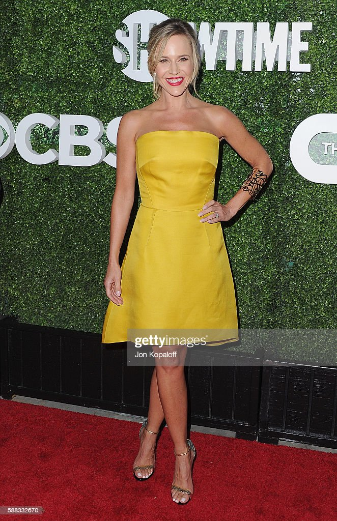 Actress Julie Benz arrives at CBS, CW, Showtime Summer TCA Party at Pacific Design Center on August 10, 2016 in West Hollywood, California.