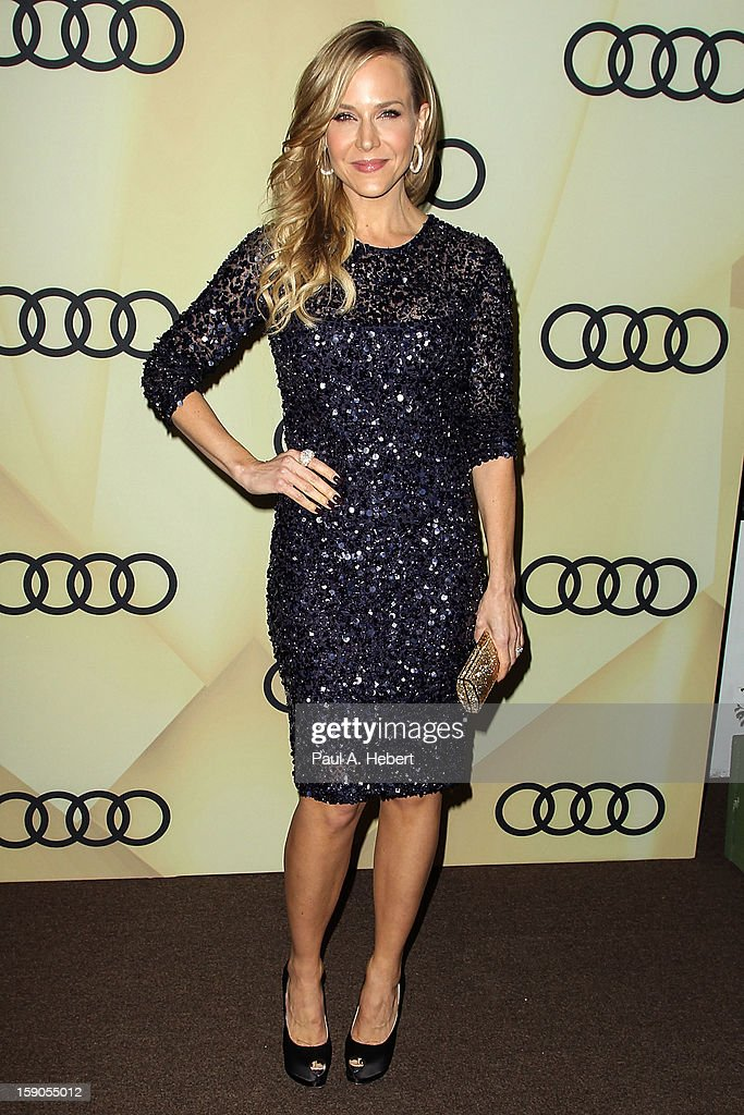 Actress Julie Benz arrives at the Audi Golden Globe 2013 Kick Off Party at Cecconi's Restaurant on January 6, 2013 in Los Angeles, California.
