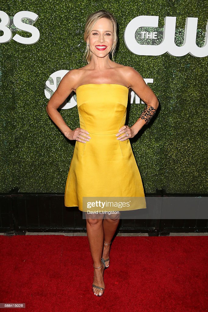 Actress Julie Benz arrives at the CBS, CW, Showtime Summer TCA Party at the Pacific Design Center on August 10, 2016 in West Hollywood, California.
