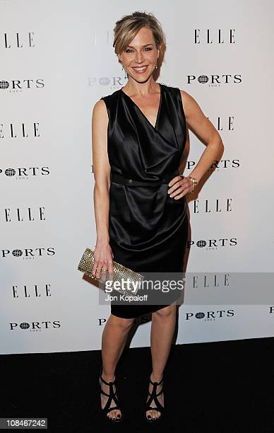 Actress Julie Benz arrives at the ELLE Women In Television Event at Soho House on January 27 2011 in West Hollywood California