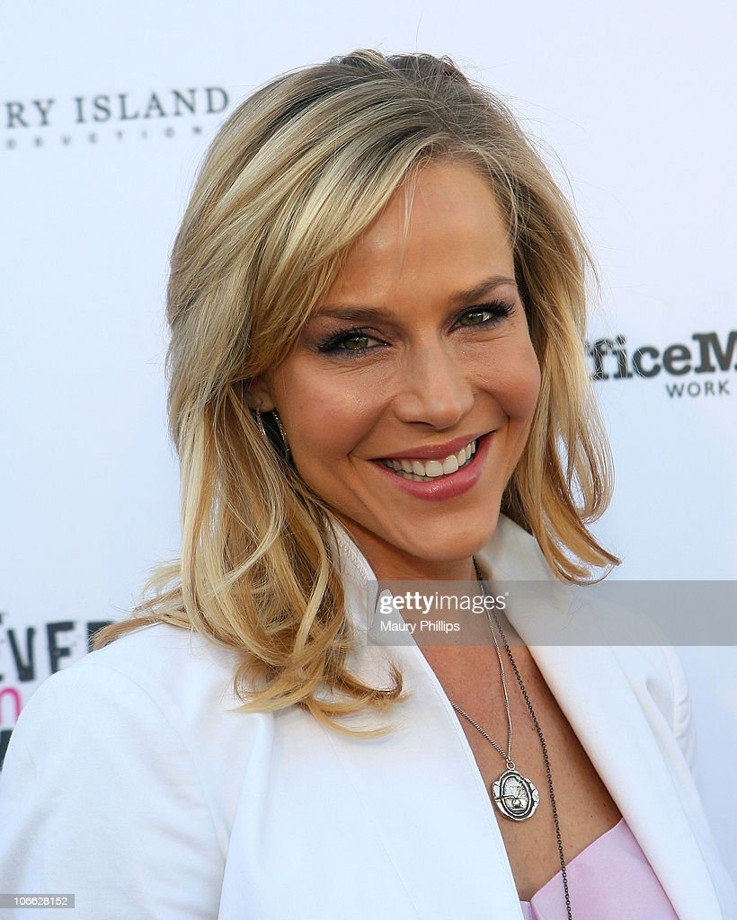 Actress Julie Benz arrives at the First Annual Party With A Purpose Benefit at Smashbox West Hollywood on May 3, 2010 in West Hollywood, California.