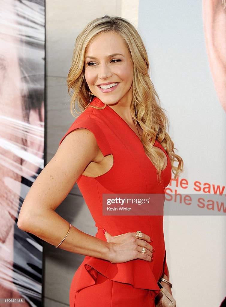 Actress Julie Benz arrives at the premiere screening of Showtime's 'Dexter' Season 8 at Milk Studios on June 15 2013 in Los Angeles California