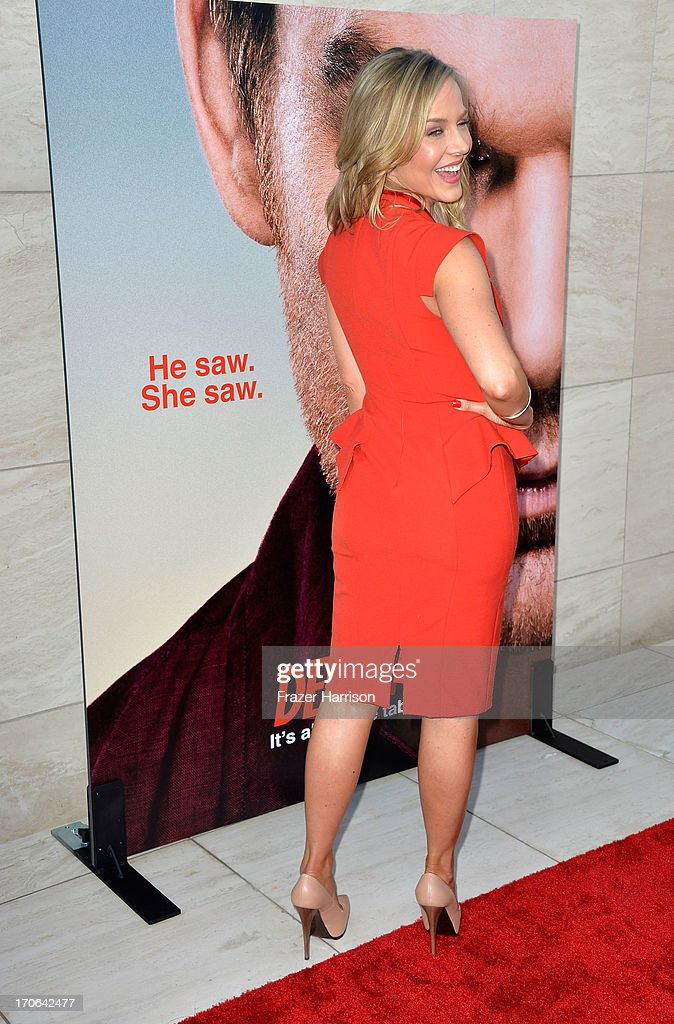 Actress Julie Benz arrives at the Showtime Celebrates 8 Seasons Of 'Dexter' at Milk Studios on June 15, 2013 in Hollywood, California.