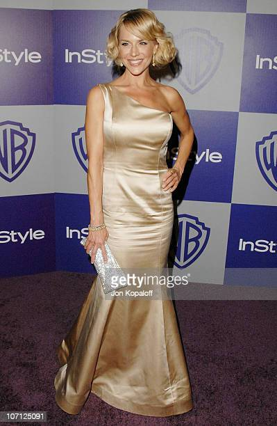 Actress Julie Benz arrives at the Warner Brothers/InStyle Golden Globes After Party at The Beverly Hilton Hotel on January 17 2010 in Beverly Hills...