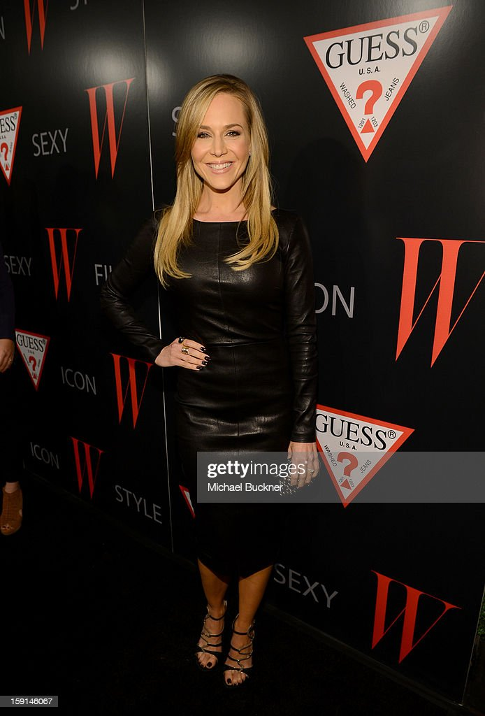 Actress Julie Benz attends '30 Years Of Fashion And Film And The Next Generation Of Style Icons' with W Magazine and GUESS at Laurel Hardware on January 8, 2013 in West Hollywood, California.