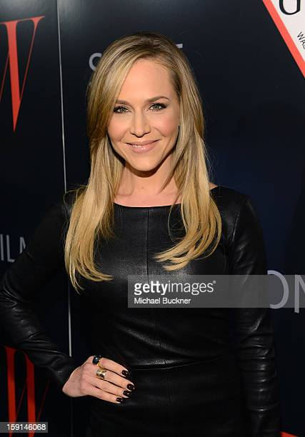 Actress Julie Benz attends '30 Years Of Fashion And Film And The Next Generation Of Style Icons' with W Magazine and GUESS at Laurel Hardware on...