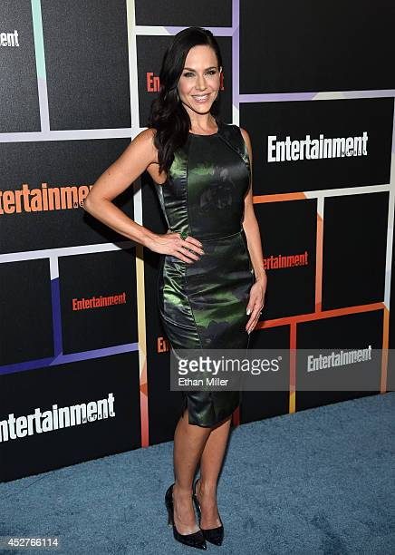 Actress Julie Benz attends Entertainment Weekly's annual ComicCon celebration at Float at Hard Rock Hotel San Diego on July 26 2014 in San Diego...
