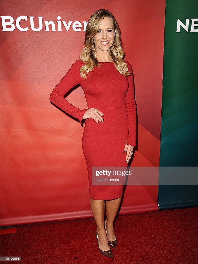 Actress Julie Benz attends the 2013 NBC TCA Winter Press Tour at The Langham Huntington Hotel and Spa on January 7, 2013 in Pasadena, California.
