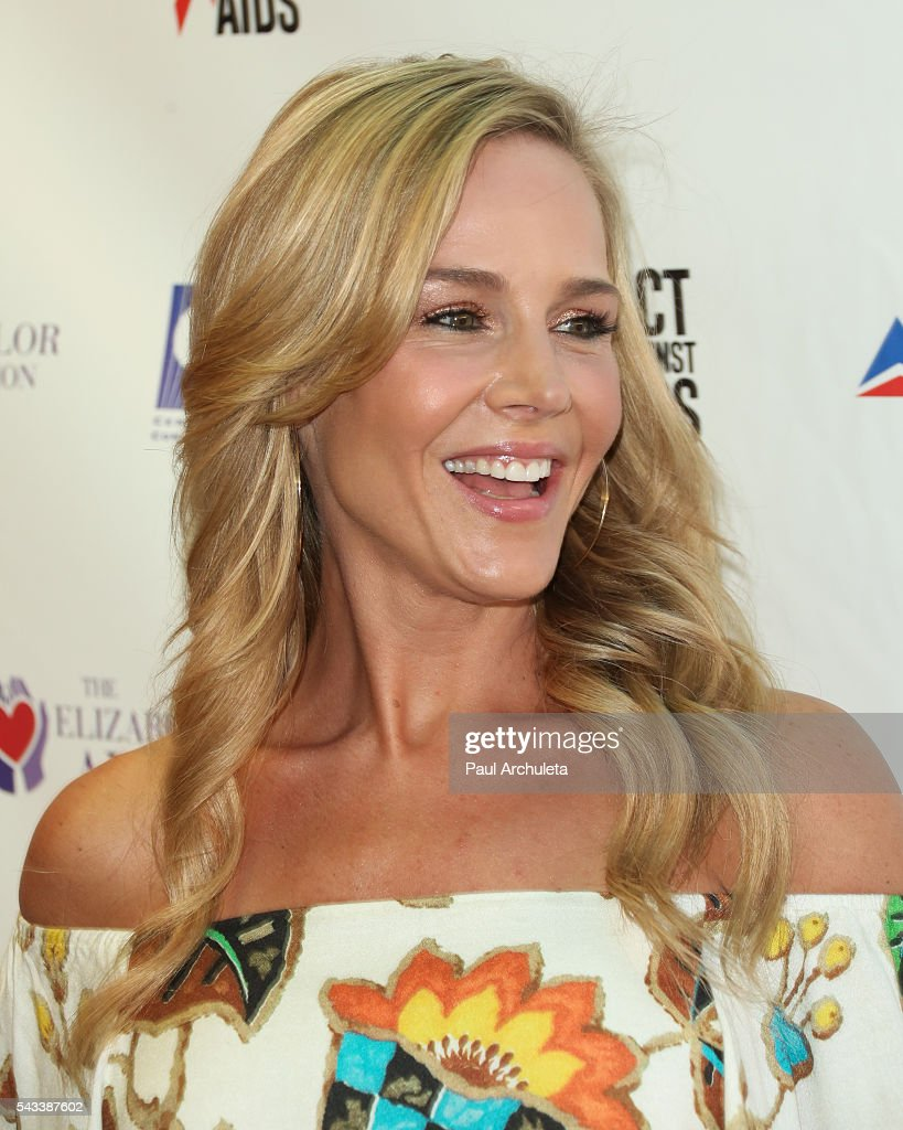 Actress Julie Benz attends the Elizabeth Taylor AIDS Foundation HIV testing event at The Abbey on June 27, 2016 in West Hollywood, California.