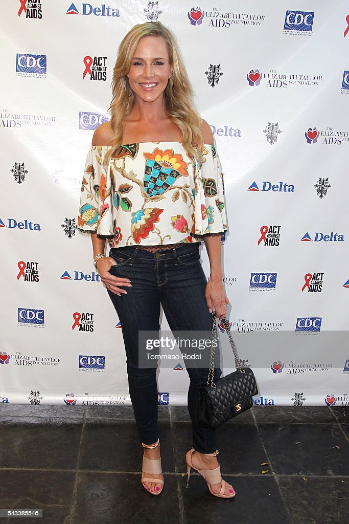 Actress Julie Benz attends The Elizabeth Taylor AIDS Foundation Hosts HIV Testing Event at The Abbey on June 27, 2016 in West Hollywood, California.