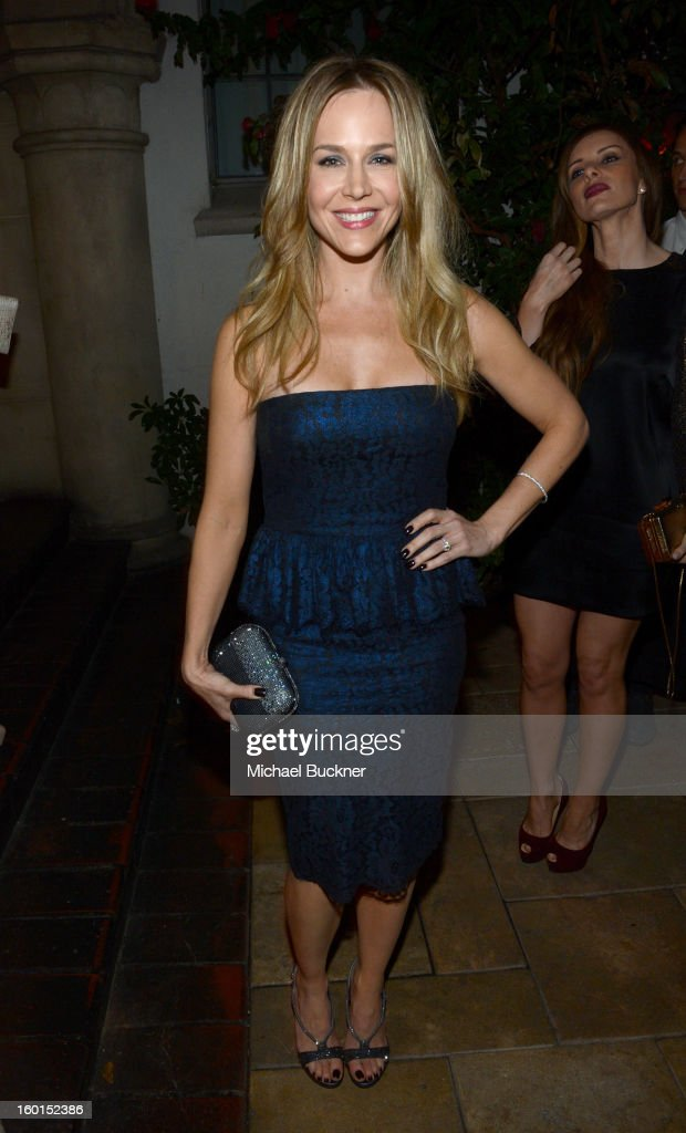 Actress Julie Benz attends the Entertainment Weekly Pre-SAG Party hosted by Essie and Audi held at Chateau Marmont on January 26, 2013 in Los Angeles, California.