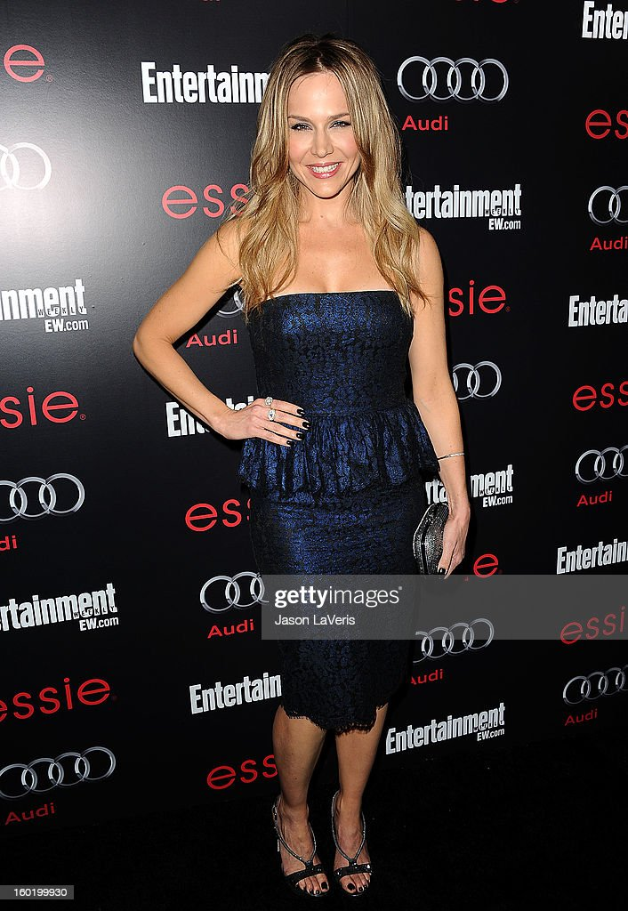 Actress Julie Benz attends the Entertainment Weekly Screen Actors Guild Awards pre-party at Chateau Marmont on January 26, 2013 in Los Angeles, California.