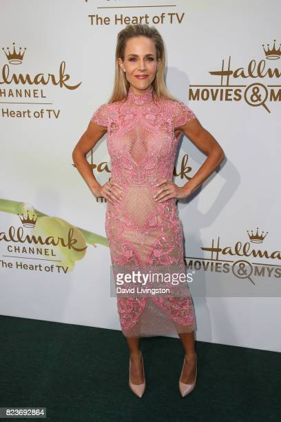 Actress Julie Benz attends the Hallmark Channel and Hallmark Movies and Mysteries 2017 Summer TCA Tour on July 27 2017 in Beverly Hills California