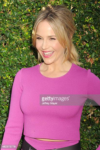Actress Julie Benz attends the Summer TCA Tour Hallmark Channel and Hallmark Movies And Mysteries at a private residence on July 29 2015 in Beverly...