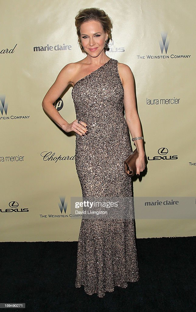 Actress Julie Benz attends The Weinstein Company's 2013 Golden Globe Awards After Party at The Beverly Hilton hotel on January 13, 2013 in Beverly Hills, California.