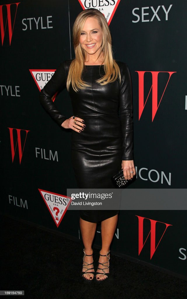 Actress Julie Benz attends W Magazine and Guess celebrating 30 years of fashion and film and the next generation of style icons at Laurel Hardware on January 8, 2013 in West Hollywood, California.