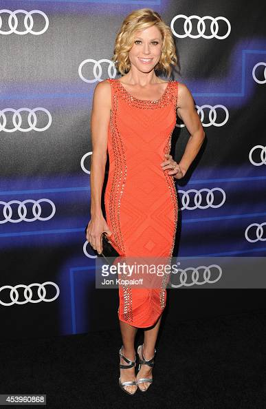 Actress Julie Bowen arrives at Audi Emmy Week Celebration at Cecconi's Restaurant on August 21 2014 in Los Angeles California