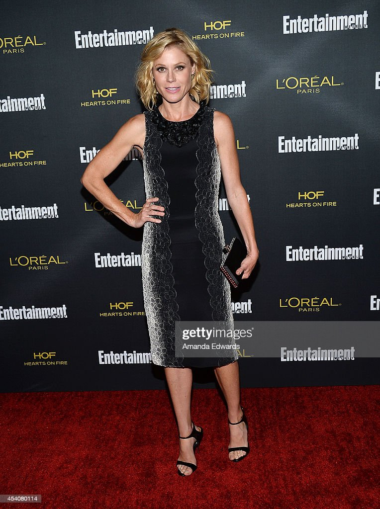 Actress Julie Bowen arrives at the 2014 Entertainment Weekly Pre-Emmy Party at Fig & Olive Melrose Place on August 23, 2014 in West Hollywood, California.