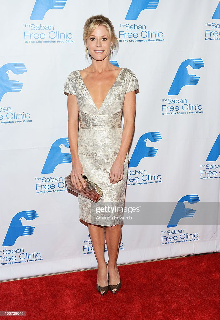 Actress Julie Bowen arrives at the Saban Free Clinic's 36th Annual Dinner Gala at The Beverly Hilton Hotel on November 19, 2012 in Beverly Hills, California.