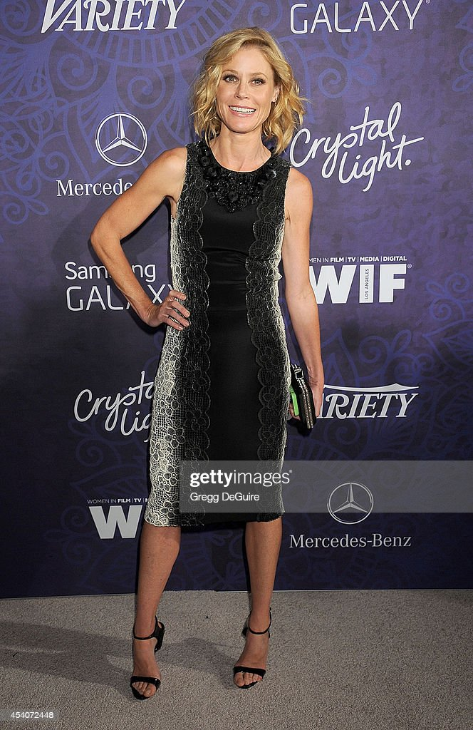 Actress <a gi-track='captionPersonalityLinkClicked' href=/galleries/search?phrase=Julie+Bowen&family=editorial&specificpeople=244057 ng-click='$event.stopPropagation()'>Julie Bowen</a> arrives at the Variety And Women In Film Annual Pre-Emmy Celebration at Gracias Madre on August 23, 2014 in West Hollywood, California.