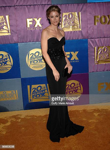 Actress Julie Bowen attends Fox's 2010 Golden Globes Awards Party at Craft on January 17 2010 in Century City California