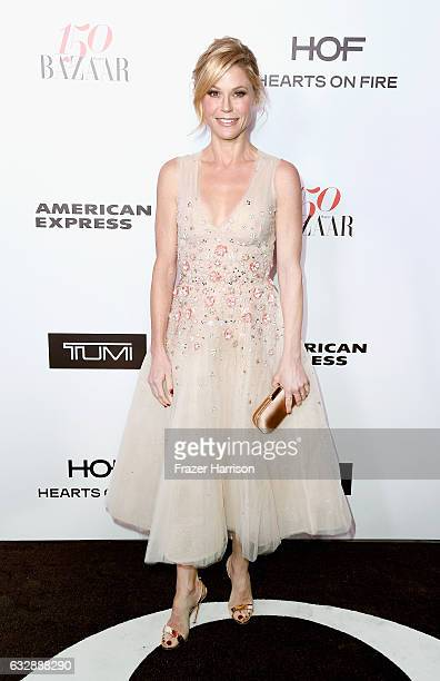 Actress Julie Bowen attends Harper's Bazaar Celebrates 150 Most Fashionable Women at Sunset Tower Hotel on January 27 2017 in West Hollywood...