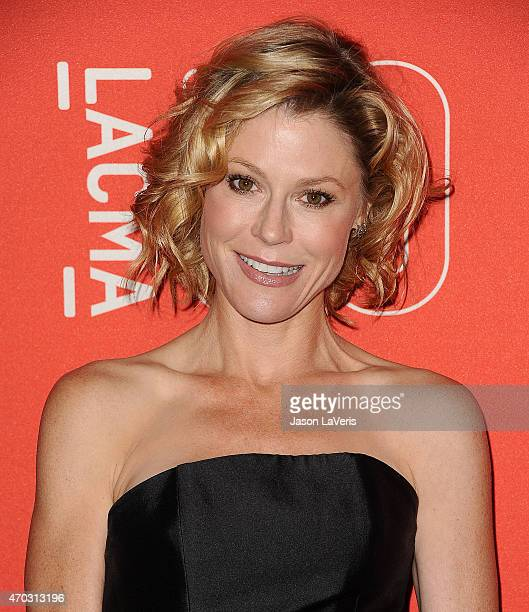 Actress Julie Bowen attends LACMA's 50th anniversary gala at LACMA on April 18 2015 in Los Angeles California