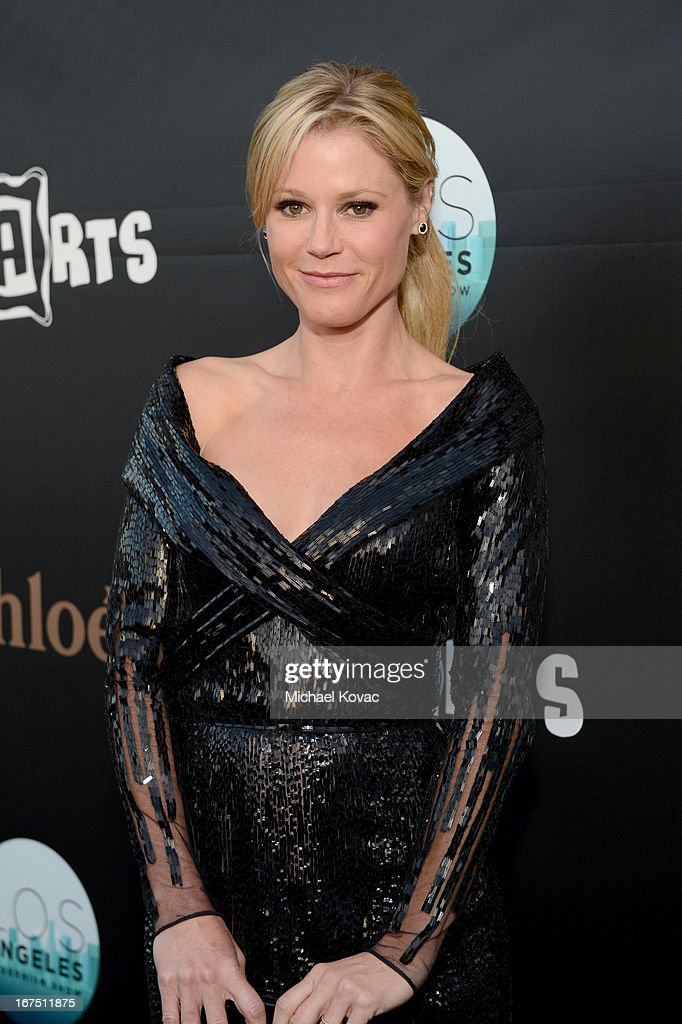 Actress Julie Bowen attends P.S. ARTS Presents: LA Modernism Show Opening Night at The Barker Hanger on April 25, 2013 in Santa Monica, California.