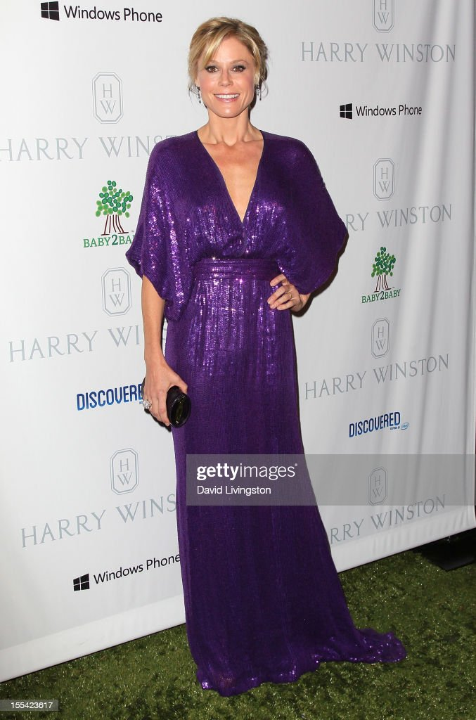 Actress <a gi-track='captionPersonalityLinkClicked' href=/galleries/search?phrase=Julie+Bowen&family=editorial&specificpeople=244057 ng-click='$event.stopPropagation()'>Julie Bowen</a> attends the 1st Annual Baby2Baby Gala at The BookBindery on November 3, 2012 in Culver City, California.