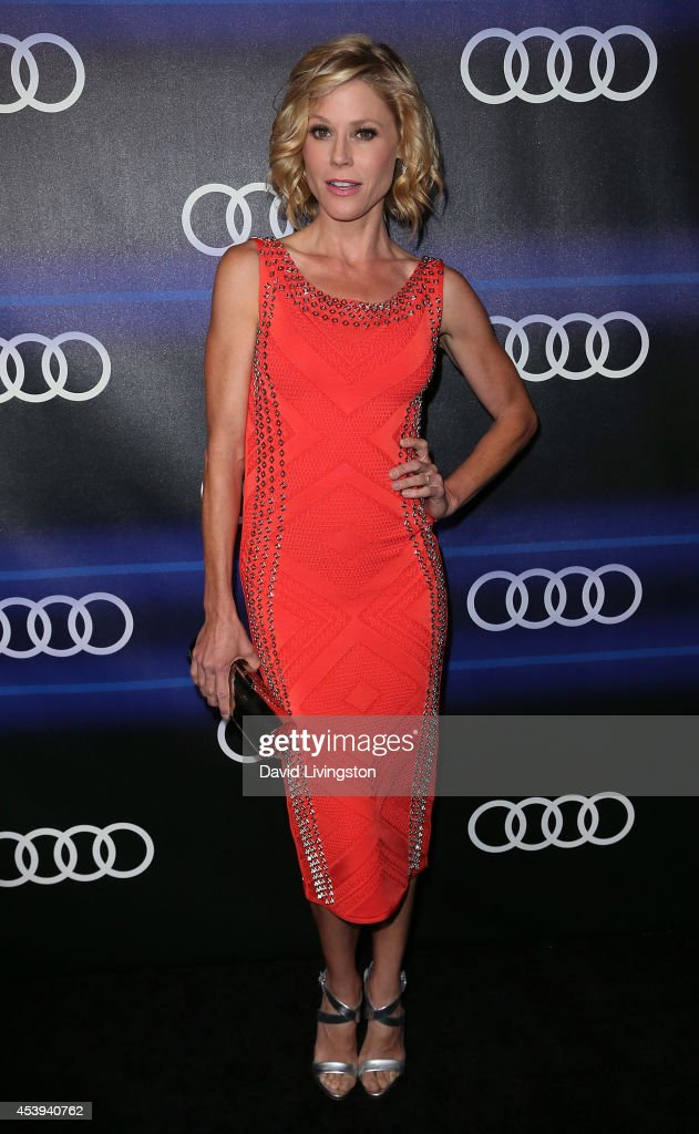 Actress <a gi-track='captionPersonalityLinkClicked' href=/galleries/search?phrase=Julie+Bowen&family=editorial&specificpeople=244057 ng-click='$event.stopPropagation()'>Julie Bowen</a> attends the Audi celebration of Emmys Week 2014 at Cecconi's Restaurant on August 21, 2014 in Los Angeles, California.
