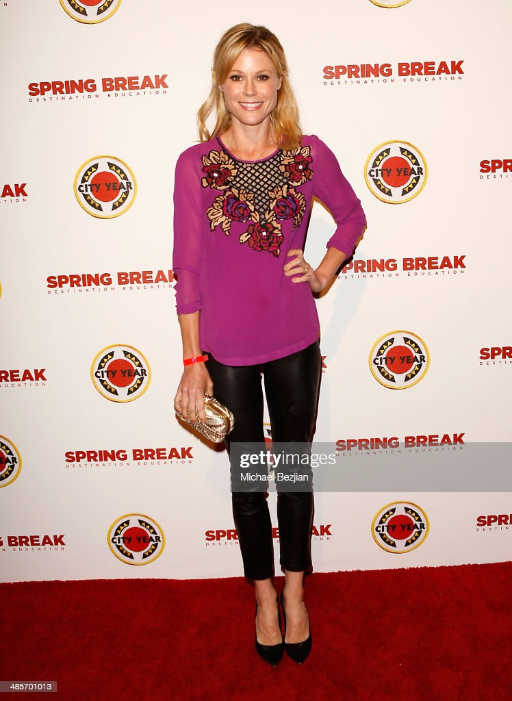 Actress <a gi-track='captionPersonalityLinkClicked' href=/galleries/search?phrase=Julie+Bowen&family=editorial&specificpeople=244057 ng-click='$event.stopPropagation()'>Julie Bowen</a> attends the City Year Los Angeles 'Spring Break' Fundraiser at Sony Studios on April 19, 2014 in Los Angeles, California.