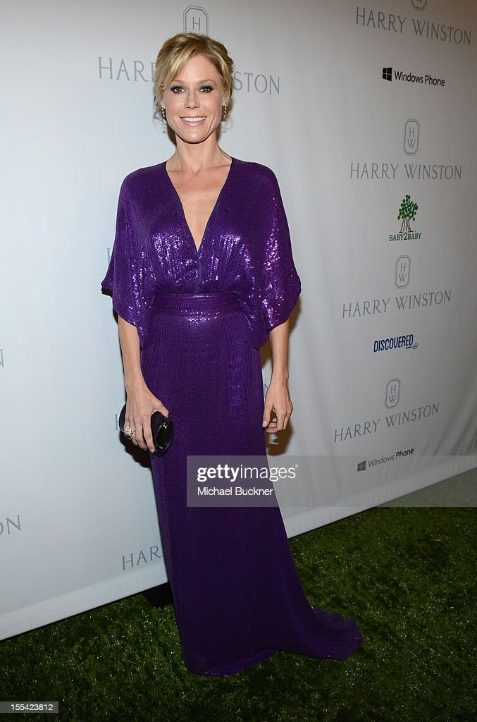 Actress Julie Bowen attends the First Annual Baby2Baby Gala event presented by Harry Winston honoring Jessica Alba at Book Bindery on November 3, 2012 in Culver City, California.
