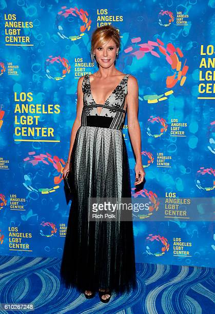 Actress Julie Bowen attends the Los Angeles LGBT Center 47th Anniversary Gala Vanguard Awards at Pacific Design Center on September 24 2016 in West...