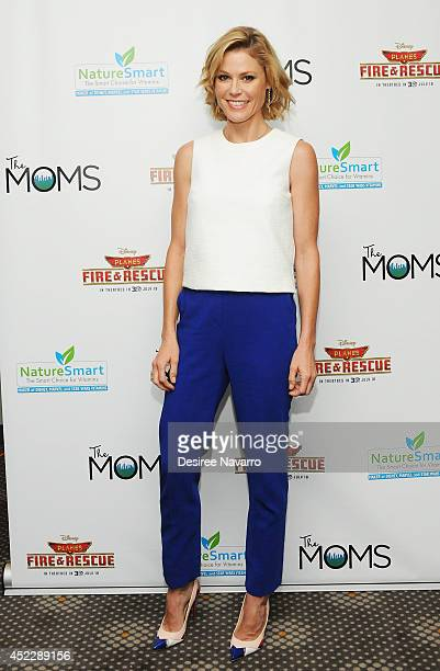 Actress Julie Bowen attends the 'Planes Fire And Rescue' screening hosted by The Moms at Elinor Bunin Munroe Film Center on July 17 2014 in New York...