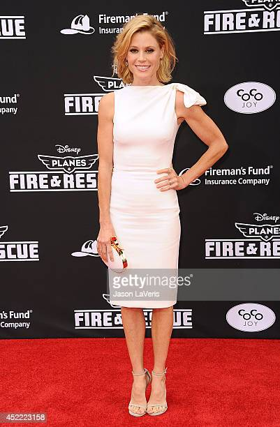 Actress Julie Bowen attends the premiere of 'Planes Fire Rescue' at the El Capitan Theatre on July 15 2014 in Hollywood California
