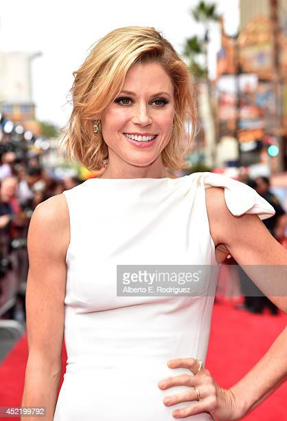 Actress Julie Bowen attends World Premiere Of Disney's 'Planes Fire Rescue' at the El Capitan Theatre on July 15 2014 in Hollywood California