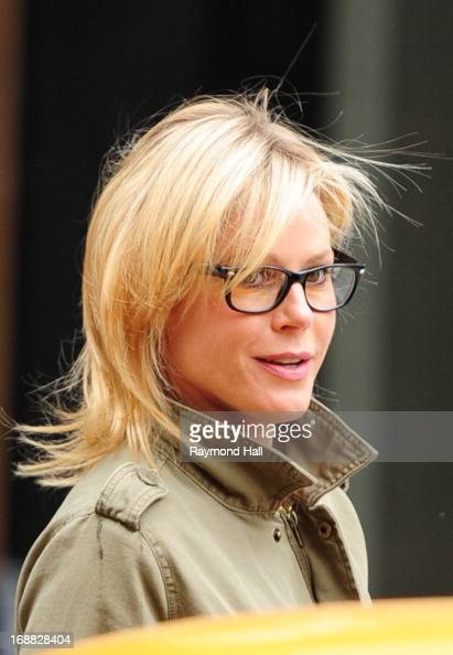 Actress Julie Bowen is seen in Soho on May 15 2013 in New York City