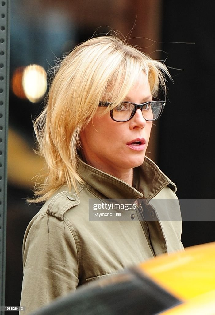 Actress Julie Bowen is seen in Soho on May 15, 2013 in New York City.