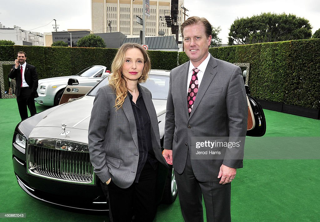 photo of Julie Delpy Rolls Royce - car