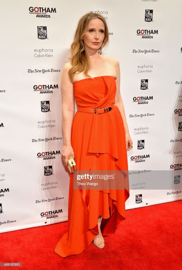 Actress <a gi-track='captionPersonalityLinkClicked' href=/galleries/search?phrase=Julie+Delpy&family=editorial&specificpeople=201914 ng-click='$event.stopPropagation()'>Julie Delpy</a> attends IFP's 23nd Annual Gotham Independent Film Awards at Cipriani Wall Street on December 2, 2013 in New York City.