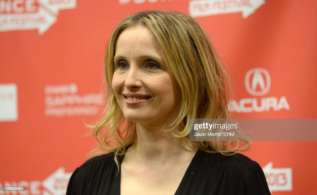 Actress Julie Delpy attends the 'Before Midnight' premiere at Eccles Center Theatre on January 20, 2013 in Park City, Utah.