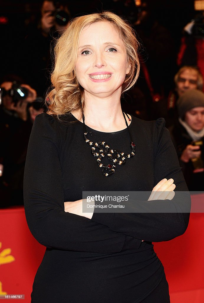 Actress Julie Delpy attends the 'Before Midnight' Premiere during the 63rd Berlinale International Film Festival at the Berlinale Palast on February 11, 2013 in Berlin, Germany.