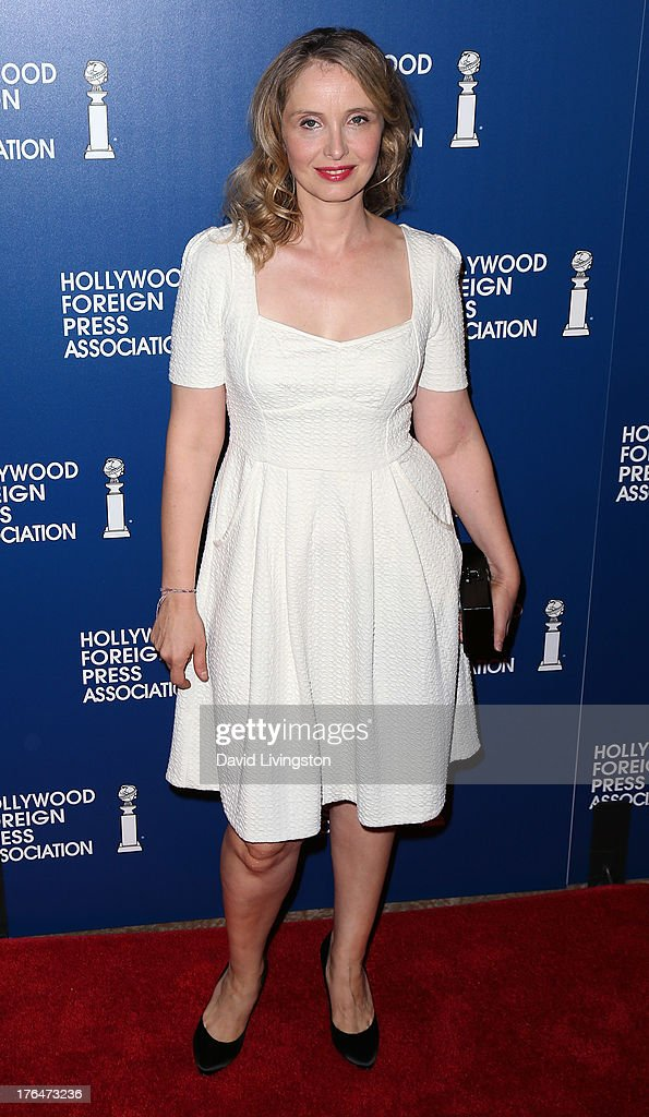 Actress Julie Delpy attends the Hollywood Foreign Press Association's 2013 Installation Luncheon at The Beverly Hilton Hotel on August 13, 2013 in Beverly Hills, California.