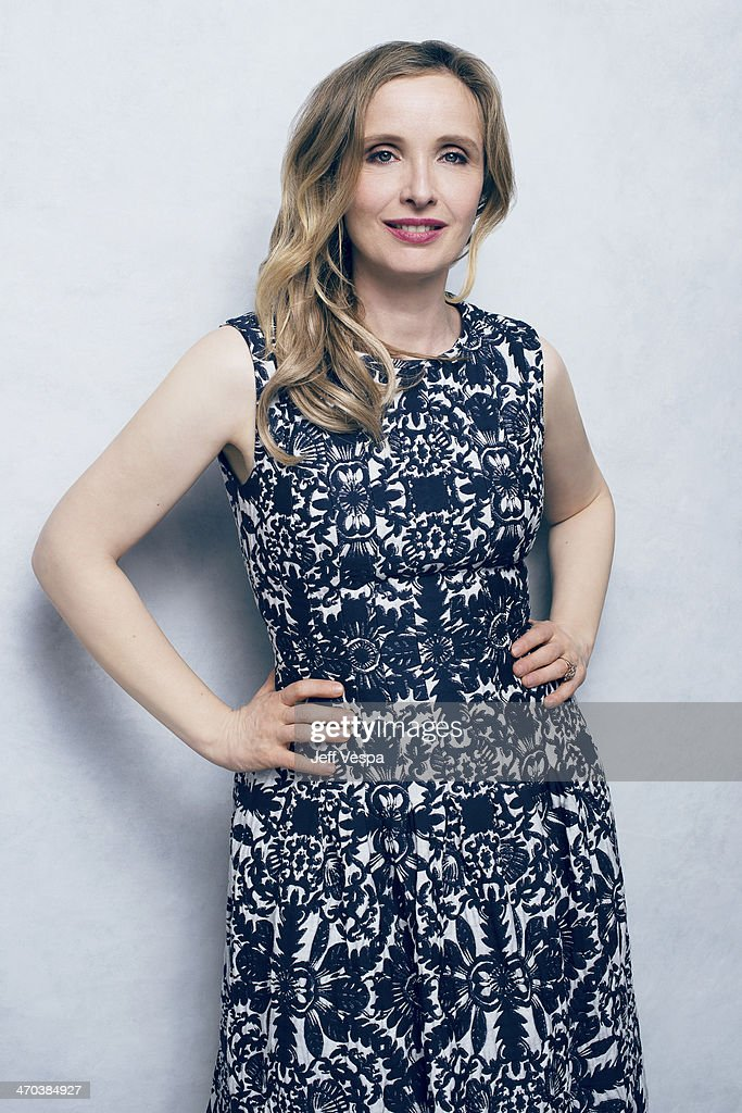 Actress <a gi-track='captionPersonalityLinkClicked' href=/galleries/search?phrase=Julie+Delpy&family=editorial&specificpeople=201914 ng-click='$event.stopPropagation()'>Julie Delpy</a> is photographed or Self Assignment on February 10, 2014 in Beverly Hills, California.