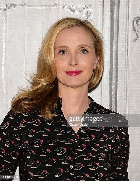 Actress Julie Delpy visits AOL Build Speakers Series to discuss her new film 'Lolo' at AOL Studios In New York on March 8 2016 in New York City